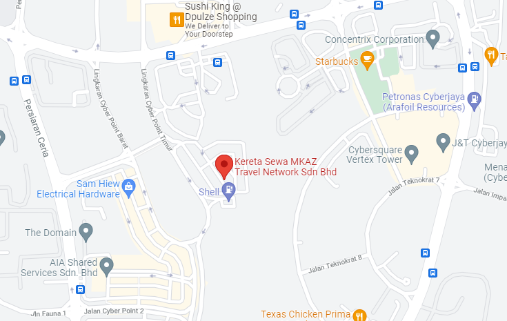 Rent Car Putrajaya